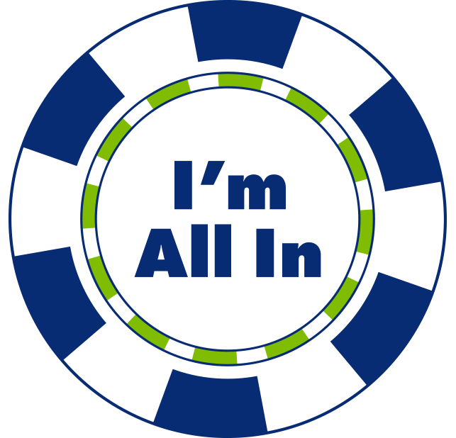 I am all in for Norfolk casino sticker